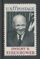 USA 1969 Scott # 1383. Dwight D. Eisenhower Issue, MNH (**). - United States