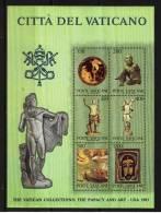 SCV59) VATICANO 1983 - ARTE VATICANA IN USA - FOGLIETTO N°7 MNH - Blocs & Feuillets