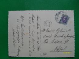 1938 Cartolina Addis Abeba Per Italia Valore Singolo - Eritrea