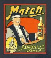 Etiquette De Liqueur: Match Advokaat (11 X 13 Cms) (Ref.73688) - Labels