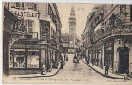 Moulins - Rue De L'horloge Et La Tour Jacquemart - Moulins