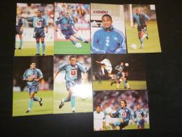 LOT DE 8 CARTES  FOOTBALL  FOOT  2000 HAC LE HAVRE - Cartes Postales