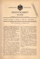 Original Patentschrift - G. Von Struve In Mittweida I.S., 1897 , Apparat Für Batterie - Behälter , Akku , W. Decker !!! - Historical Documents