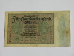 500 000 Fünfhunderttausend  - Berlin 1925  - Germany  - Allemagne -. - 1918-1933: Weimarer Republik