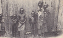 DJ16  --  DJIBOUTI  --  FECONDITE D `UNE FEMME SOMALIS  --  1907  --  NUIS, NUDE BOYS - Dschibuti