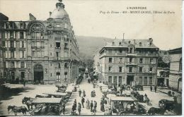 N°32543 -cpa Mont Dore -hôtel De Paris- - France