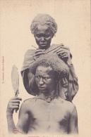 DJ18  --  DJIBOUTI  --  COIFFURE D `UN SOMALIS - Dschibuti