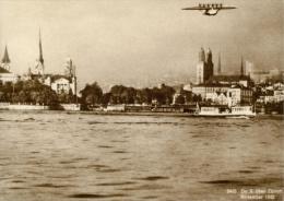 Zürich - DO-X Bei Der Landung Auf Dem Zürichsee  (Repro)            1932 - ZH Zurich