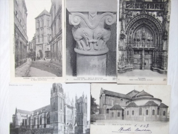 Lot De 13 Cpa Poitiers - MI08 - 5 - 99 Postcards