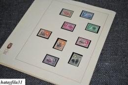 Gahna 1957 - 1962 ** Postfrische Slg. auf Selbsgestalteten Linder - Bl�ttern Kpl. mit allen werten ( S - 206 )