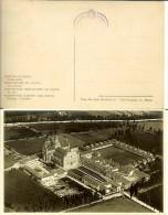 Pavia: Certosa - Veduta Aerea. Cartolina Fp Anni ´30 (timbro R.R. Gallerie E Monumenti Di Lombardia - Milano) - Pavia