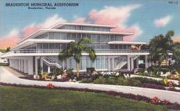 Florida Bradenton Bradnton Municipal Auditorium
