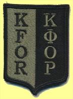 SLOVENIA, SLOVENIAN  ARMY PATCH, KFOR, KOSOVO MISSION - Ecussons Tissu