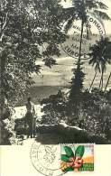 1958  Flore Locale: Montrouziera Sur Carte Postale FDC - FDC