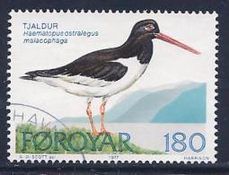 Faroe Islands, Scott # 29 Used Bird, 1977 - Faroe Islands