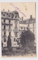 (RECTO / VERSO) LUXEUIL EN 1925 - N° 97 - L' HOTEL DES BAINS - TACHE EN HAUT DE CARTE - Luxeuil Les Bains