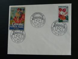 Oblitération Sur Lettre Postmark On Cover Foire Internationale Nice 1971 Vignette Carnaval - Carnival