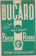 (g7)Bucaro , Paso Doble , PAOLO  ROSAS , Musique : EMILE NOBLOT - Partitions Musicales Anciennes
