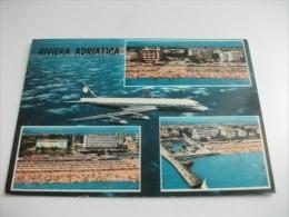 Aereo In Volo Riviera Adriatica - 1946-....: Era Moderna