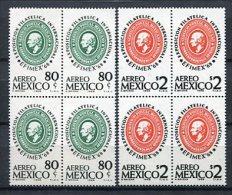 Mexico 1968. Yvert A 285-86 X 4 ** MNH. - Mexico