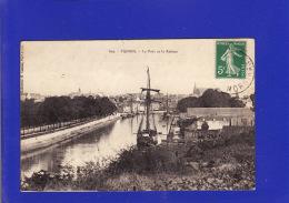 +4534)   VANNES  Port Et Rabine 1913    : Très Très Bon état : 7 - Vannes