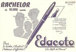 BUVARD STYLO DE FRANCE EDACOTO BACHELOR (leger Pli Median Non Visible Sur Le Scan) - S