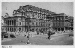 [DC8821] VIENNA - WIEN - OPERNTHEATER- Viaggiata 1951 - Old Postcard - Vienna