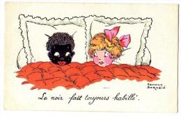 CPA POST CARD - 1926  Le Noir Fait Toujours Habillé - Edit. Edmond SORNEIN  N°14 - Cartes Humoristiques