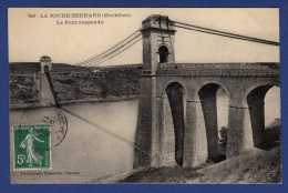 56 LA ROCHE-BERNARD Le Pont Suspendu - La Roche-Bernard