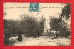 LE CROISIC - Journée ... 1921 - Le Monument Aux Morts - Très Animée - Ouvriers -  Femme Portant Le Deuil  (2 Scans) - Ile D'Oléron