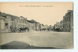 PONT FAVERGER : Rue Saint Brice. 2 Scans. Edition Dupieux - France
