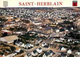 : Réf : J-12- 5202 : Saint Herblain Papier Collé Au Dos - Saint Herblain