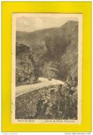 ...... Postcard GERES  PORTUGAL GEREZ GERÊS 1930s Road & Car - Portugal