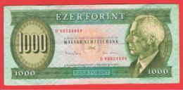 HUNGRIA - HUNGARY -  1000 Forint  1993  P-176 - Hungría