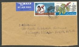 UGANDA 1978. Airmail Cover To USA - Uganda (1962-...)