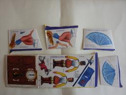BANANIA,  Découpage,cendrillon(diorama Cendrillon, Garde , Horloge) Boite Morvan, 500gr, Années 60 - Unclassified
