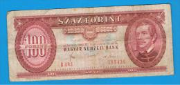 HUNGRIA - HUNGARY -  100 Forint  1980  P-171 - Hungría