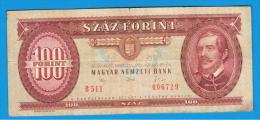 HUNGRIA - HUNGARY -  100 Forint  1992  P-174 - Hungría