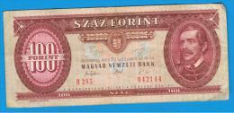 HUNGRIA - HUNGARY -  100 Forint  1993  P-174 - Hungría