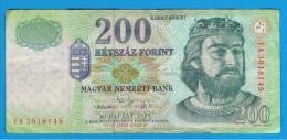 HUNGRIA - HUNGARY -  200 Forint 2005  P-187 - Hungría