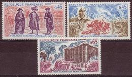 FRANCE - 1971 - YT N° 1678 / 1680 -** - Série Complète - TB - Neufs