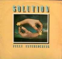 * LP *  SOLUTION - FULLY INTERLOCKING (England 1977) - Rock