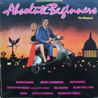 * LP *  ABSOLUTE BEGINNERS - THE MUSICAL - DAVID BOWIE / RAY DAVIES / SADE A.o. (USA 1986) - Filmmuziek