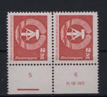 DDR Michel No. 2550 w ** postfrisch / Lizenz Nr. / Schnittmarkierung