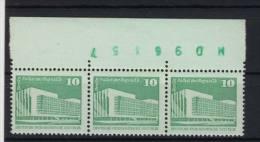 DDR Michel No. 2484 vb ** postfrisch / Bogenz�hler 4,4cm