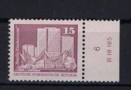 DDR Michel No. 2501 vb ** postfrisch / Lizenz Nr.