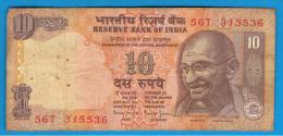 INDIA - 10 Rupias ND    P-89 GANDHI - India
