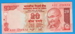 INDIA - 20 Rupias ND SC   P-89 GANDHI - India