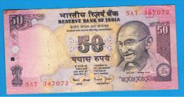 INDIA - 50 Rupias ND    Serie 5AT GANDHI - India