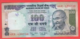 INDIA -100 Rupias ND  P-91  Serie 4KW  GANDHI - India